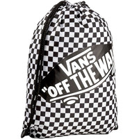WM BENCHED BAG Black/White Checkerboard