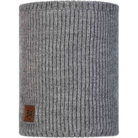 KNITTED POLAR FLEECE NEACKWARMER RUTGER MELANGE GREY